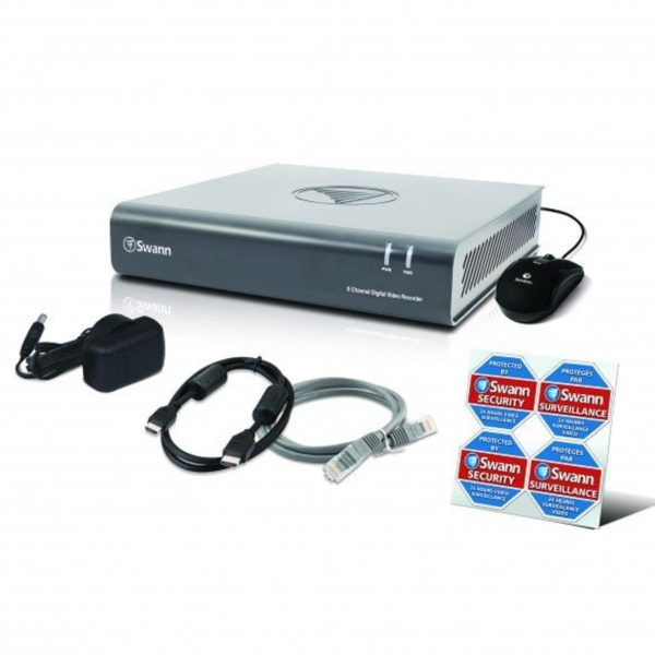 Swann DVR8-1580 8 Channel 1TB 720p Digital Video Recorder