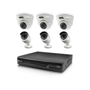 Swann NVR8-7400 8 Channel 4MP & 3 x NHD-818 + 3 x NHD-819 Cameras