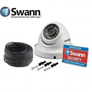 Swann PRO-T836 1MP 720p HD Dome Security camera + 18m/60ft BNC Cable