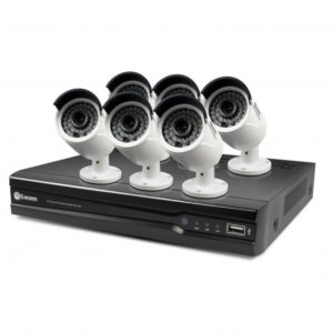 SWANN NVR8-7400 4MP 2TB Network Video Recorder with 6 x NHD-818 Cameras