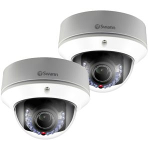 Swann SWNHD-831CAM 3MP Varifocal Dome IP CCTV Camera - 2PACK