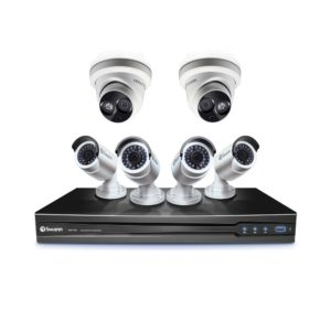 Swann SWNVK-87090 3MP NVR - 4x SWNHD-835 and 2x SWNHD-836 3MP Secuity Cameras