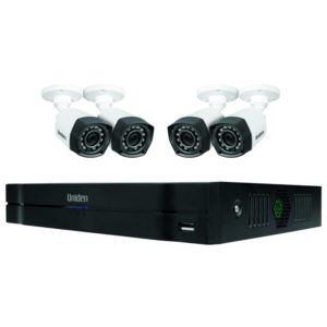 Uniden Guardian GCVR8H40 Hybrid 8CH (+4 wifi IP) 1080P CVR 1TB with 4 x Bullet Cameras